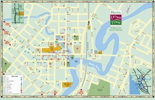 Napa downtown maps for downtown napa for Holiday craft fair napa ca